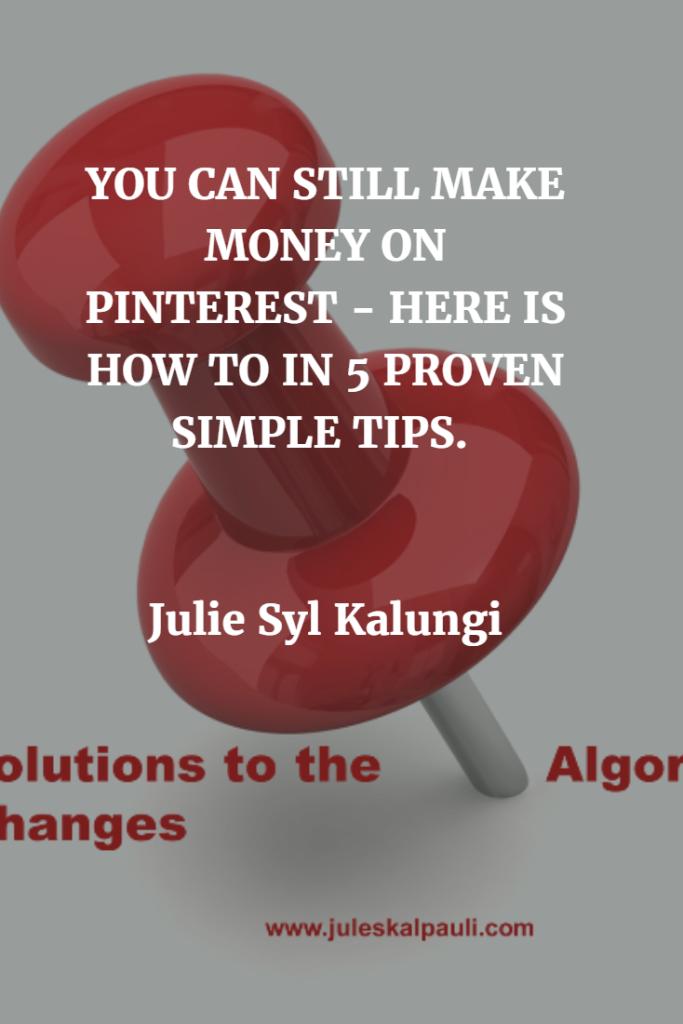 How to Make Money on Pinterest! #socialmediahacks #PINTERESTTIPS