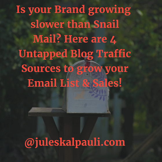 The Untapped free blog traffic sources you need! #blogtraffic #freewebtraffic