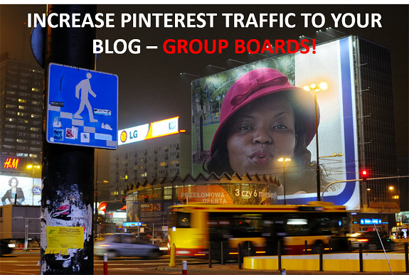 Group Boards do help Increase #PinterestTraffic to your blog!
