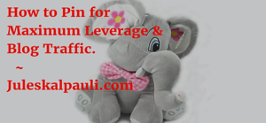 How to Pin for Maximum Leverage for More Sales!