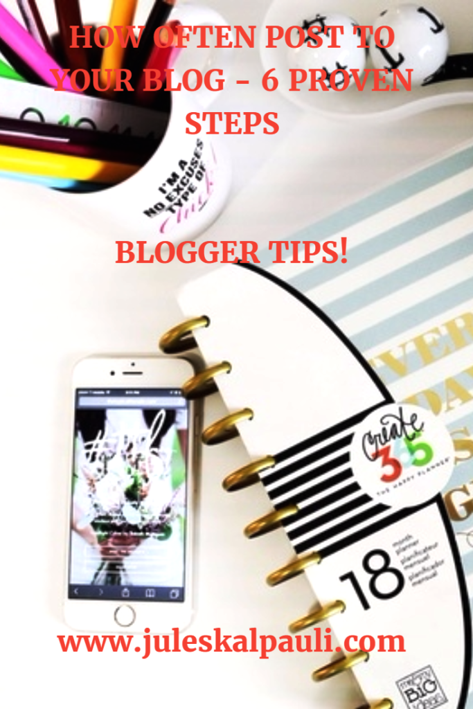 6 Effective Steps to Determine How often to post a Blog! #contentstrategy