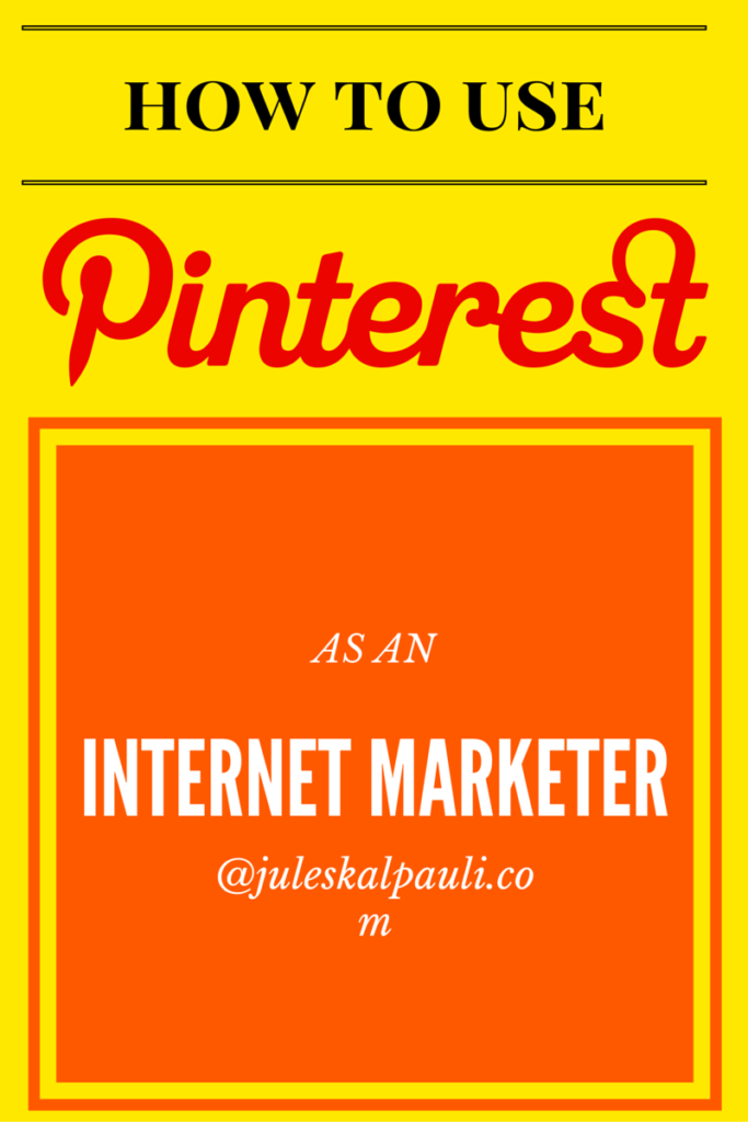 How to Use Pinterest for Internet Marketing in 8 Simple and Applicable Steps! #Pinterestmarketing #internetmarketing