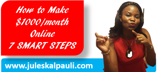 How to Make $1K Per Month Online, No Messing!