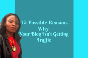 15 Simple Reasons Your Blog Isn't Getting Traffic AND HOW TO FIX THAT! #blogtraffic
