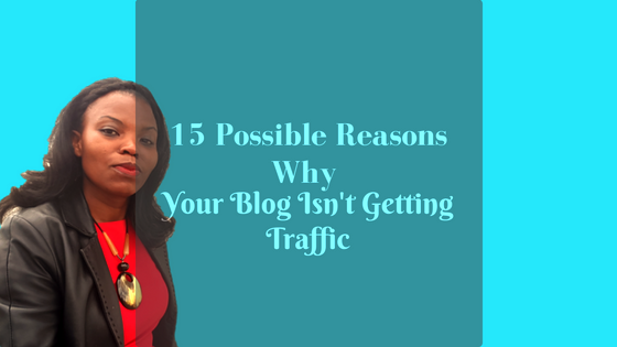 15 Simple Reasons Your Blog Isn't Getting Traffic!