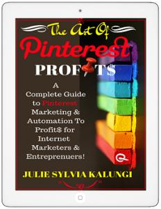 The art of Pinterest Profits on Amazon_Widget