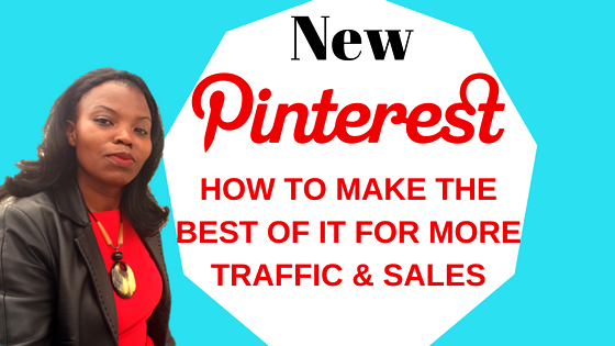 How to make the most of Pinterest for business with the changes and Updates! #pinteresttraining