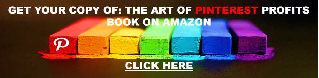 """The Art Of Pinterest Profits"" on Amazon"