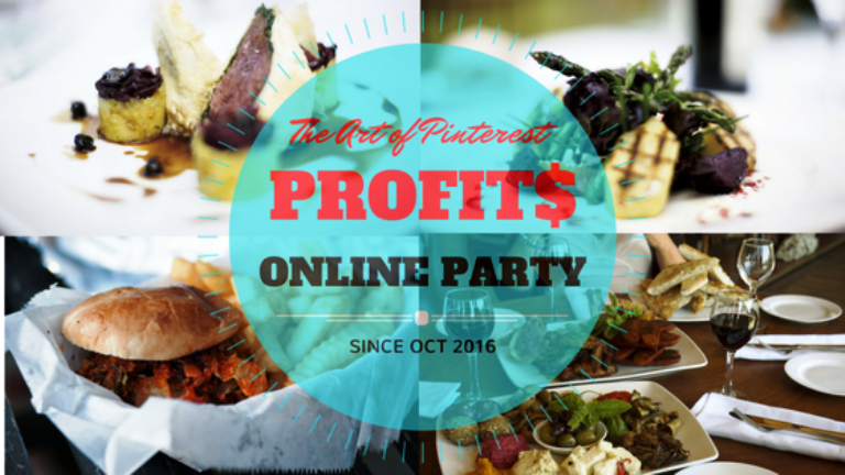 Pinterest Party: The Art of Pinterest Profits Celebration!