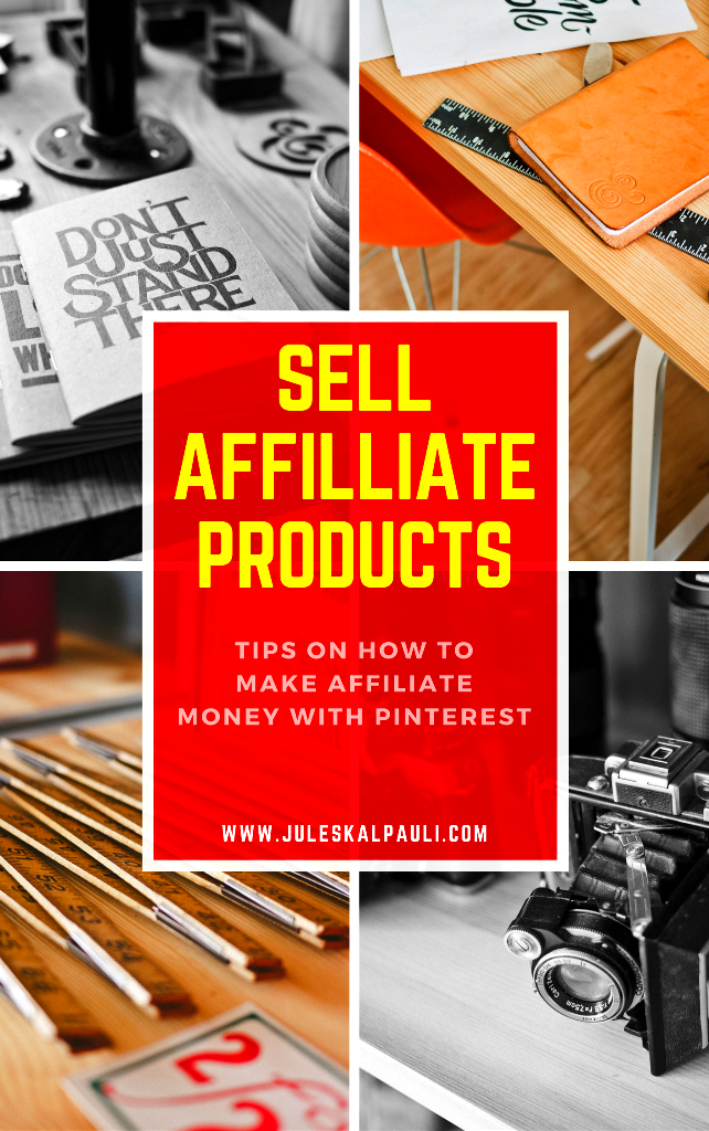 Sell affiliate products on pinterest in 7 easy and for Easy to make and sell products