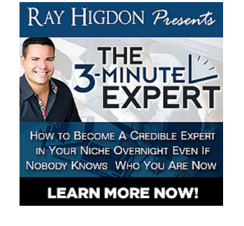 Blog Bundle The 3-Minute Expert by Ray Higdon