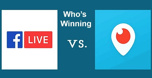 Periscope Vs Facebook Video: Who's winning?