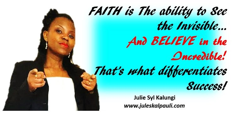 Smashing Self-Limiting Beliefes with Faith and BY Faith in your ability to Accomplish anything you put your mind to!