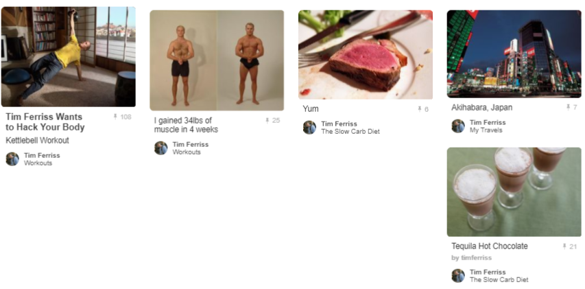 Celebrity Pinterest Success_Tim_Ferriss_SneakPeak_Pins