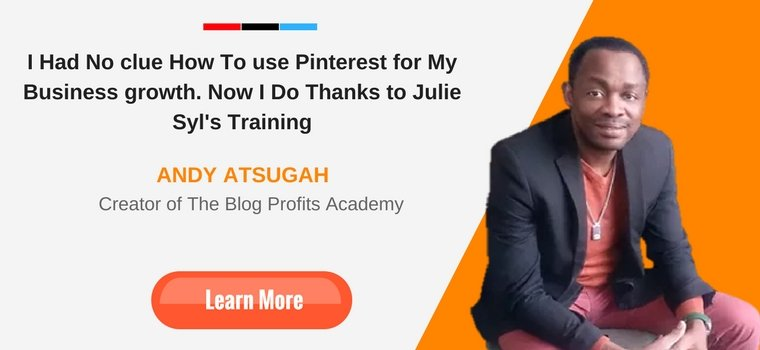 Ultimate Pinterest Roadmap Andy Atsugah Testimony