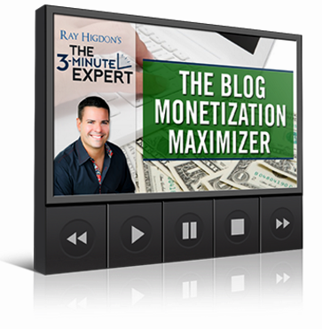 The 3-Minute Expert - Best Blogging resource by Ray Higdon