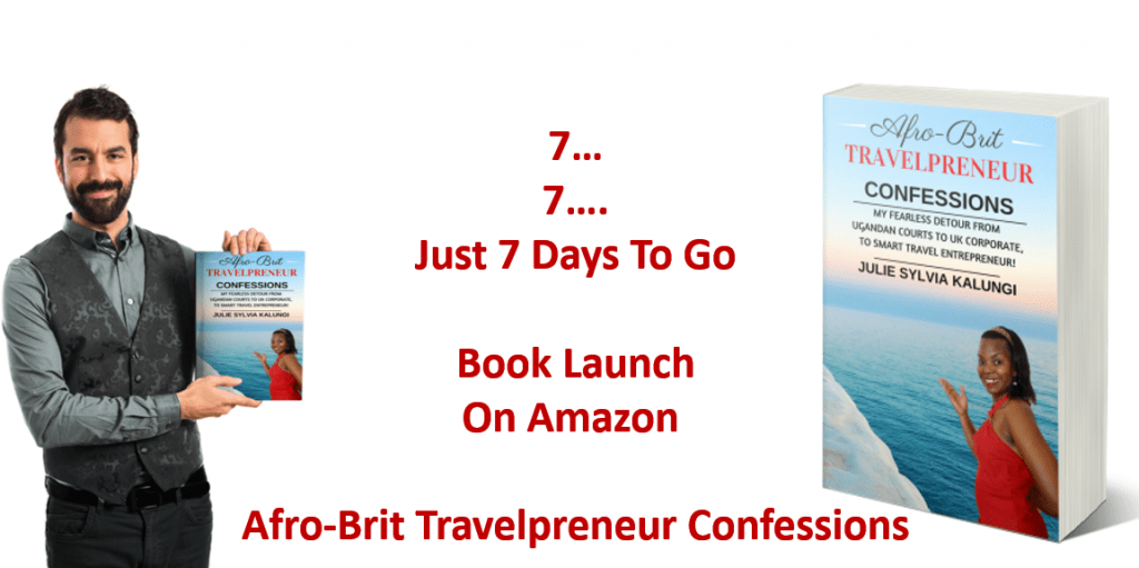 Afro-Brit Travelpreneur Confessions pre-launch