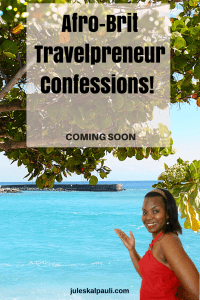 Afro-Brit Travelpreneur Confessions Book Pre-launch!