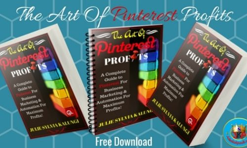 The Art Of Pinterest Profits - Free Book Anniversary Celebration