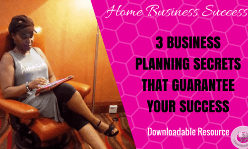 3 Business Planning Secrets by 7-Figure Earners to Guarantee Success!