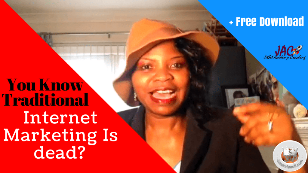 Are You Embarrassed By your Traditional Internet Marketing Skills? Here's What to Do.