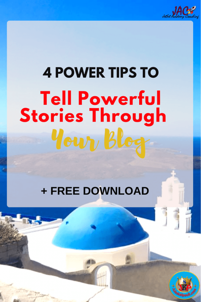 4 Proven Tips to Tell Powerful Stories through your blog and win your readers' hearts Fast!