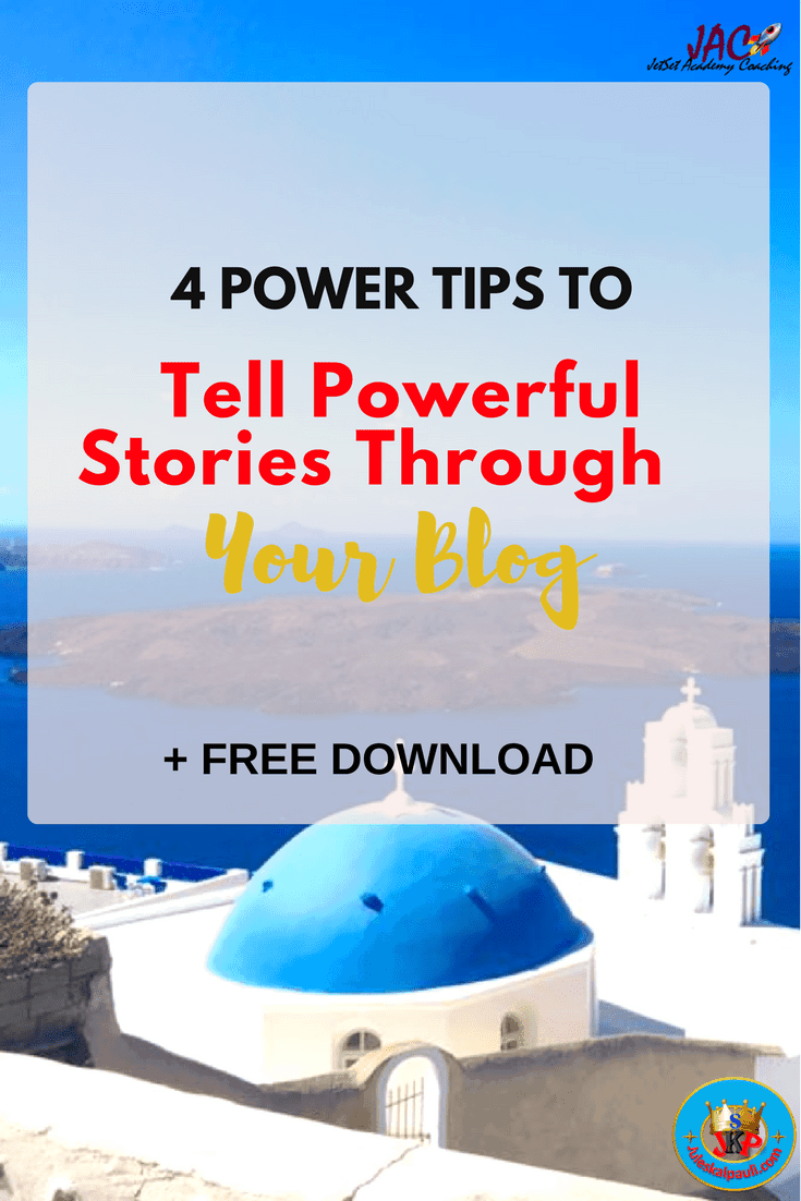 Ever remember a fond childhood memory of mama or papa reading you a 'bedtime stories'? Well, imagine that you can Tell powerful stories through your blog and elicit a similar feeling in your readers!