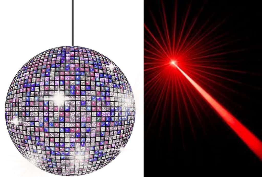 marketing for online entrepreneurs Laser beam Vs Disco ball!