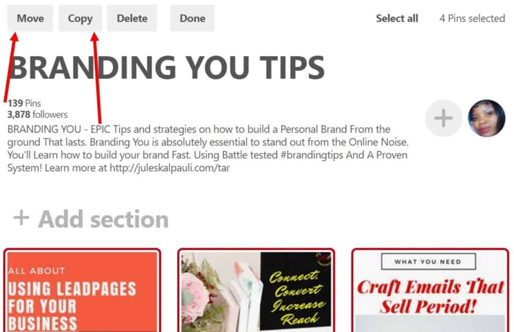 What are Pinterest Sections, How do you Use them for More Blog Traffic?