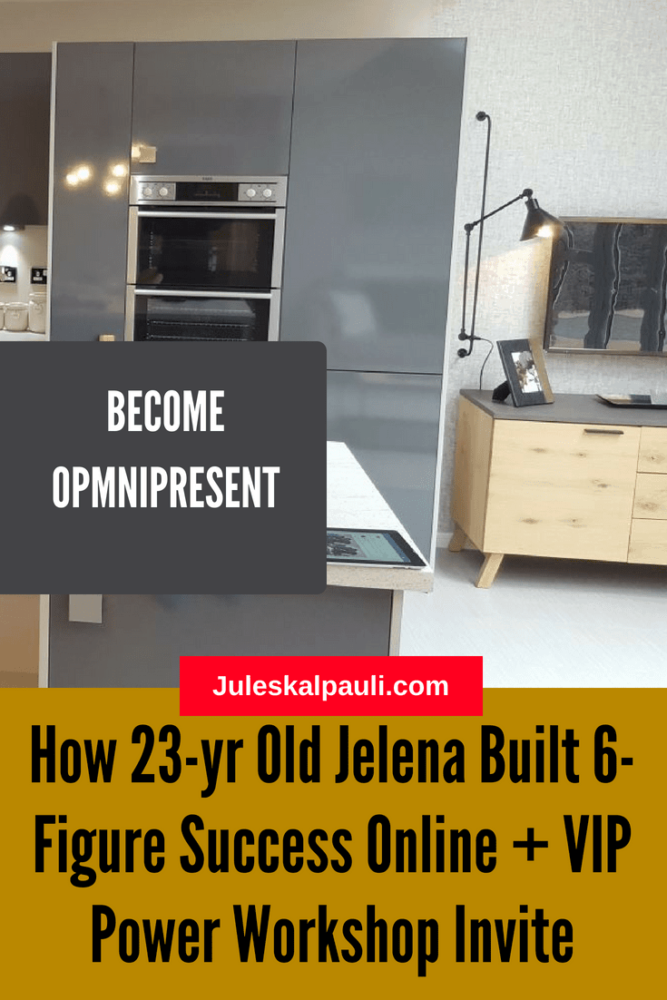 Real Life Rags to Riches - How 23 Year Old Jelena Ostrovska Created 6-Figure Online Success  as a Coach and Network Marketer in less than 3 years!