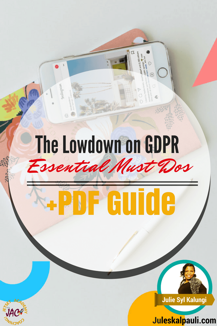 The GDPR aims to make it simpler for people to control how companies use their personal details. It has implications for every business including, yes, you've guessed it: bloggers, online marketers and webmasters! Download your Essentials PDF