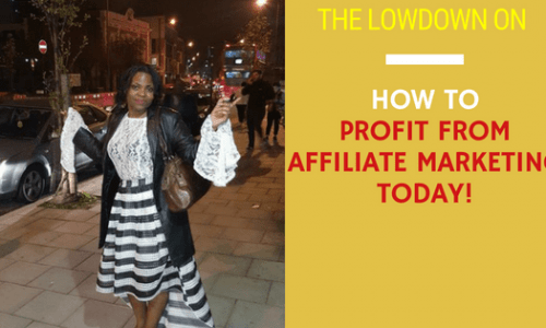 How to Profit from affiliate Marketing Today in 7 Power Steps! #AffiliateMarketinghacks