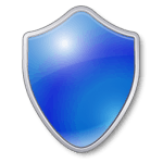 Security Shield Blue