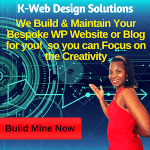 K-Web Design Solutions - Bespoke Website Build and Maintenance Solutions