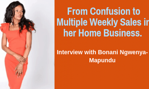 Interview with Bonani Winning Entrepreneur