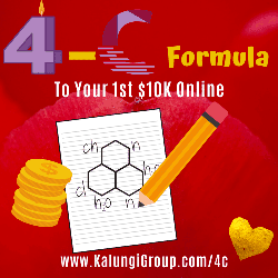 The 4-C Formula to Your first 10K online