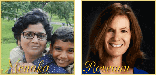 Menaka and RoseAnn
