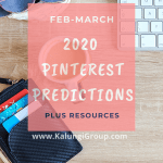 Pinterest Predictions for 2020