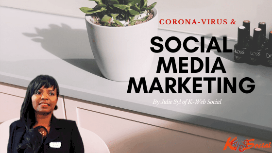 How Social Media Marketing Can Help your Business survive Covid-19.