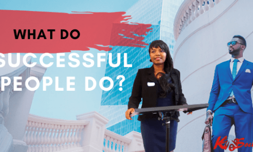 what successful people do?