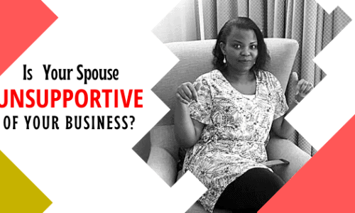 dealing with unsupportive spouse in Network Marketing
