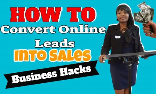 Convert Prospects into sales - Selling to Customers